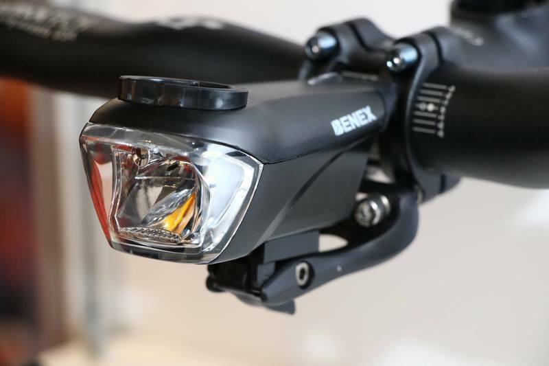 BENEX ET-3130 Bike Bicycle Dragon Stem Head Front Light for Garmin Bryton GPS