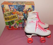 "Vintage Roller Derby Womens ""ROLLERS"" ROLLER SKATES MODEL U940 With Box Size 7"