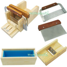 Adjustable Wood Soap Mold Loaf Straight Planer Silicon Beveler Planer Dish Box