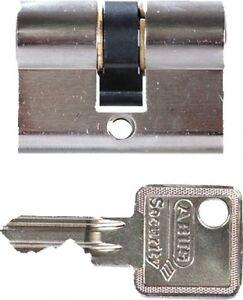 abus zylinder 21x21mm profilkurzzylinder schloss sicherheitsschloss gartentor ebay. Black Bedroom Furniture Sets. Home Design Ideas