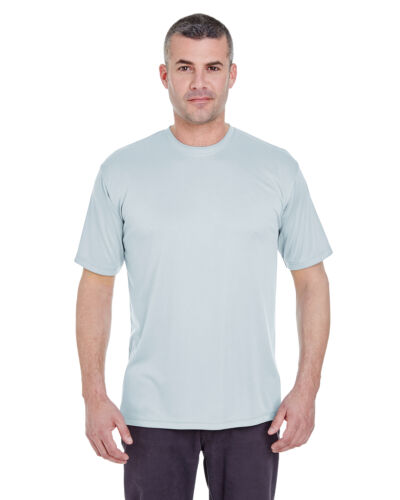 8620 Ultra Club Mens Cool /& Dry Basic Performance T Shirt Moisture Wicking Tee