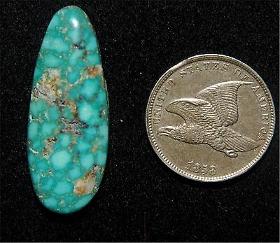 Blue Gem Turquoise Natural Cabochon form Battle Mountain, Nevada