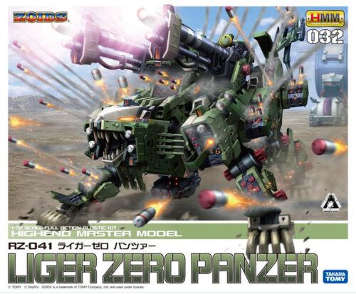 HMM ZOIDS RZ-041 LIGER ZERO PANZER Plastic Model Kotobukiya FROM JAPAN