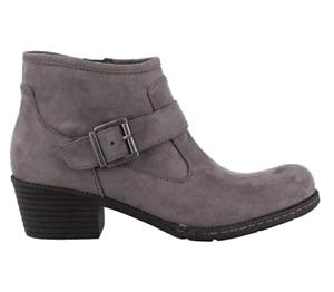 Nuevo Born b.o.c. Ofelia gris botas al tobillo para mujer 10 Z36060