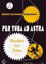 Bourgeois Per Tuba Ad Astra 10 Studies Bass Clef Sheet Music & Song Books