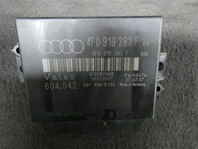 Original Audi A6 4f Unité de Commande Pdc Aide au Stationnement Aps +4f0919283f