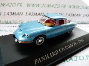 AUT8M-Voiture-1-43-IXO-altaya-Voitures-d-039-autrefois-PANHARD-CD-coach-1962