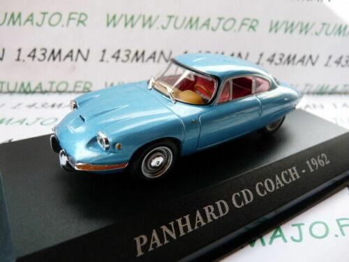 AUT8M Auto 1//43 ixo altaya Autos Ehemalige Panhard CD Coach 1962