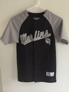 Image is loading Vintage-Florida-Miami-Marlins-Jersey-Youth-Small-True- 553e35905
