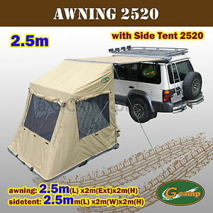 Image Is Loading G CAMP 2520 AWNING SIDE TENT POP UP