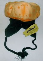 Green Bay Packers Cheese Head Winter Dangle Hat Kids One Size Orange
