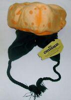 Green Bay Packers Cheese Head Winter Dangle Hat Kids One Size Orange