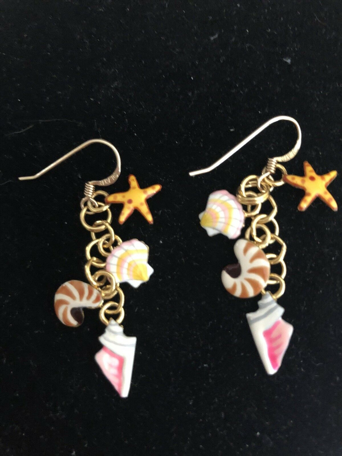 Lunch At The Ritz SEASHELL Earrings