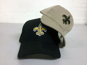 New-Orleans-Saints-Cap-Hat-Embroidered-Game-Men-NO-Home-Adjustable-Curved