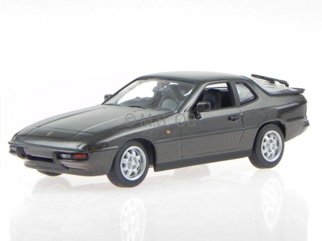 Porsche 924 1984 browne met. modelcar 940062121 Maxichamps 1 43