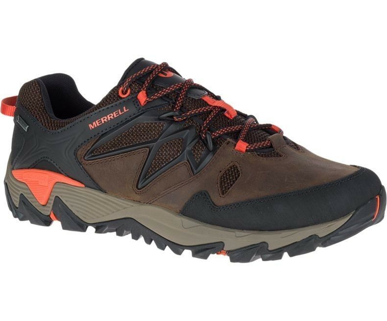 Merrell all out Blaze II GTX Goretex Trekking Multi  Sport shoes for Men Clay  incentive promotionals
