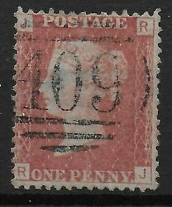 SG43-1d-Rose-Red-Plate92-Fine-409-Numeral-Cancel-Of-JERSEY-Ref-0667