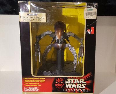 (lotto 155 A) 1999 Star Wars Destroyer Droid Episodio 1 Camera Di Allarme Tiger Electronic-mostra Il Titolo Originale