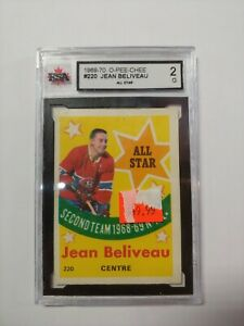 1969-70-OPC-O-Pee-Chee-220-Jean-Beliveau-MONTREAL-All-Star-Second-Team