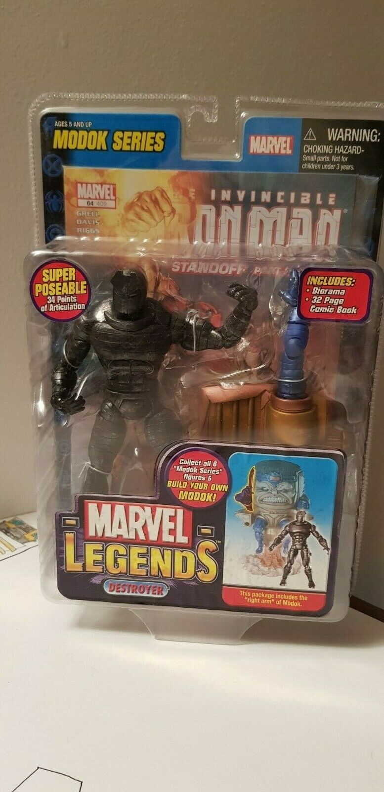 MARVEL LEGENDS DESTROYER modok baf Juguete biz civil universe hasbro NEW wave lee