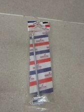 "NEW ADD-ON ACCESSORIES 12"" FLAG POLE SET W/ EAGLE TOP & FLAT POLE CLAMP 678-013"