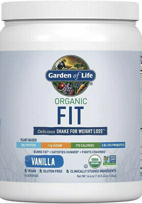 Garden Of Life Organic FIT Shake For Weight Loss 10 ...