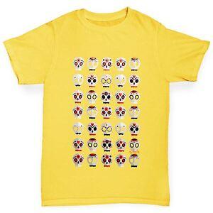 Twisted-Envy-Boy-039-s-Sugar-Candy-Cranes-Imprime-T-shirt-en-coton