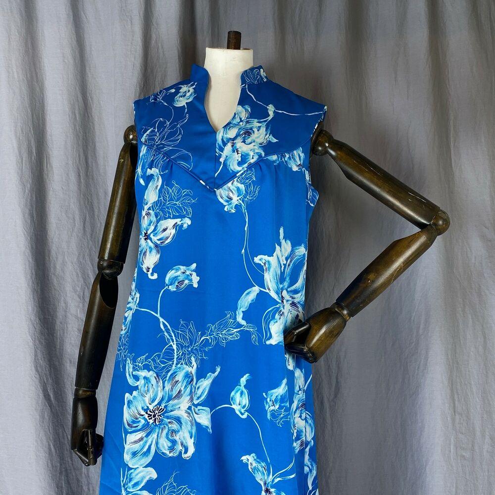 Vintage Mcinerny Tropicana Floral Muumuu Grand Hawaïen Robe Nos W / Kimball Tag
