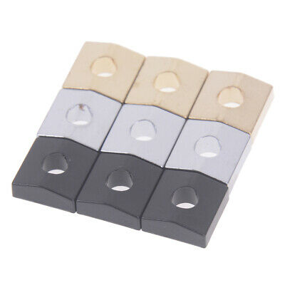 3pcs electric guitar locking nut block clamp screws for tremolo bridge zx ebay. Black Bedroom Furniture Sets. Home Design Ideas