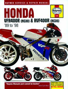 Honda-VFR400-1989-1998-amp-RVF400-1994-1998-Haynes-Manual-3496