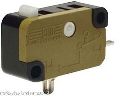 10x Microswitch Finecorsa a leva Deviatore Pulsante Micro Limit Switch