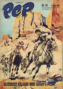 PEP-1967-nr-45-BLUEBERRY-COVER-BEE-GEES-BLAKE-amp-MORTIMER-ARENDSOOG-VIDOCQ