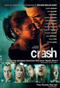 Crash-DVD-2005-Widescreen-Disc-Only-Don-Cheadle-Sandra-Bullock