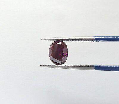 GIA Certified 1.57 carat Fancy PURPLE SI1 Oval Cut Loose Natural Diamond  RARE