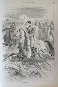 Soldiers-Jumpers-Hunters-D-Africa-Engraving-Xixeme-No-59-Universe-Illustre-1859