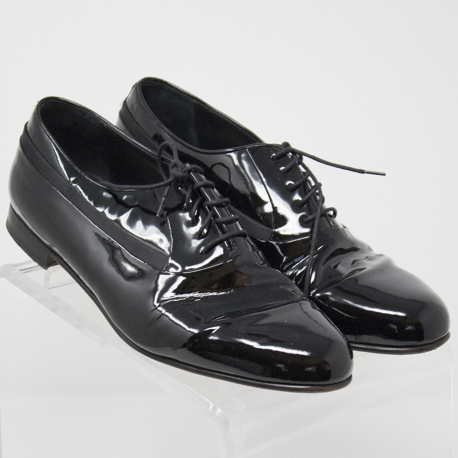 saldi Mezlan Broadway Broadway Broadway Formal nero Patent Leather Oxford scarpe US 10.5 W Spain 18459  spedizione veloce a te