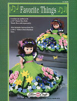 Favorite Things, Fibre-craft Crochet Patterns For 13 Doll And 8 Pillow Doll