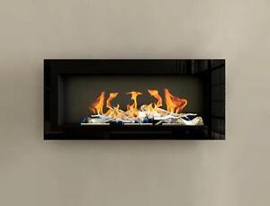 120er gel und ethanol kamin hochglanz schwarz gelkamin. Black Bedroom Furniture Sets. Home Design Ideas