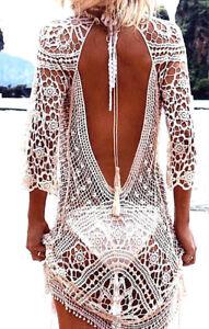 Haekel-Sommerkleid-in-weiss-rueckenfrei-Strandkleid-im-Boho-Hippie-Ibiza-Style