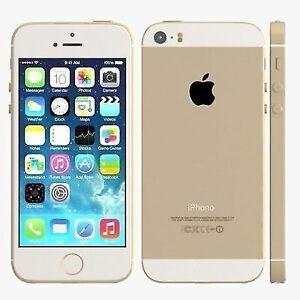 Apple iPhone 5S iOS Smart Phone 16 GB Gold