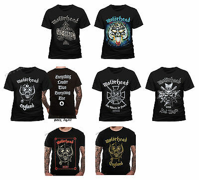 Motorhead Playing Card T-Shirt Homme