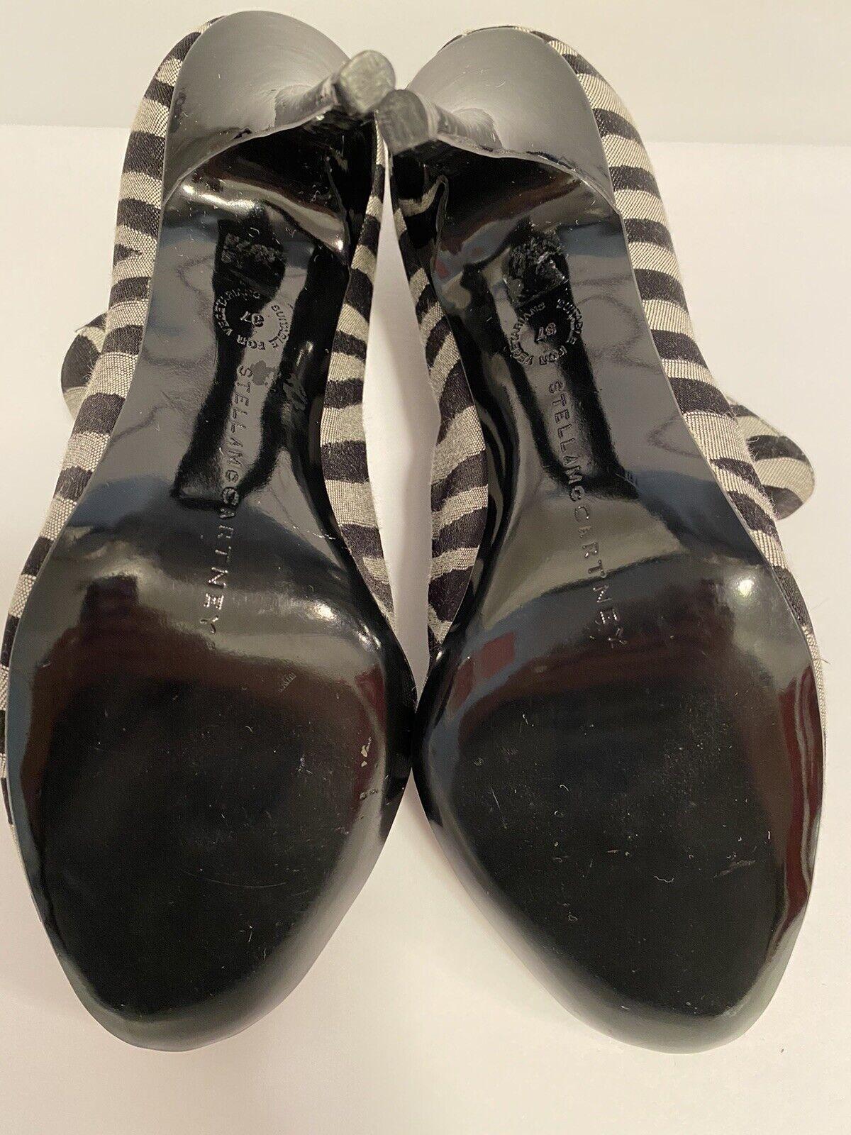 Stella McCartney Zebra Striped Boots Size 36 - image 8