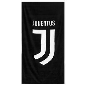 Telo mare F.C. Juventus Juve ufficiale 90x170 cm spugna di cotone S328