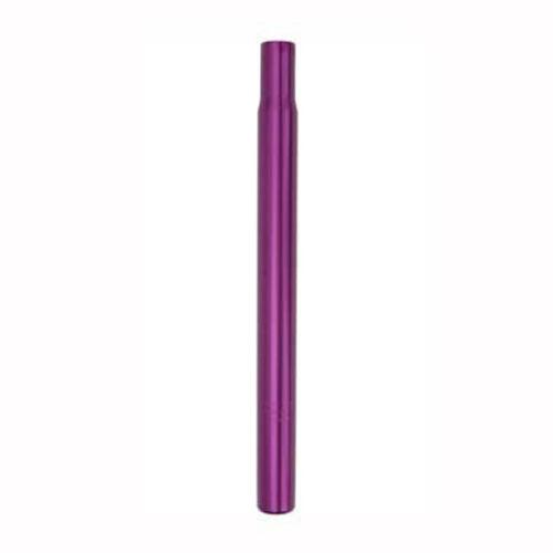 Purple 25.4mm Aluminum Alloy Seatpost Saddle Seat Post Bike Bicycle Pillar 300mm