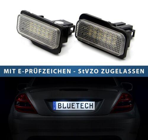 DEL plaque d/'immatriculation éclairage Mercedes C E Classe s203 Combi et s211 w211 7203