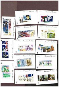 2-PAGES-GB-JERSEY-ISLE-OF-MAN-ETC-VF-MNH-YLUJ18