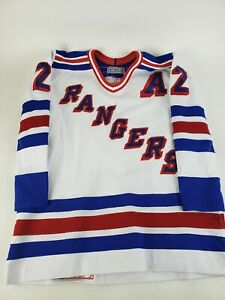 Authentic-NHL-Hockey-Jersey-New-York-Rangers-Brian-Leetch-2-CCM-Center-Ice