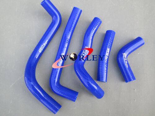 Silicone Radiator Hose for Kawasaki KDX220 KDX200 KDX 220 200 1995-2006 96 Blue