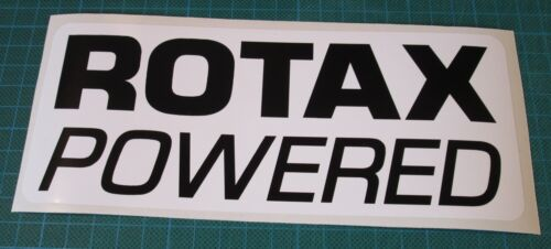 ROTAX POWERED BOMBARDIER SEADOO JETSKI QUAD KART STICKERS DECALS