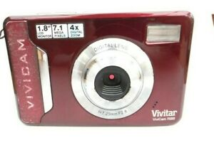 Vivitar Vivicam 7020 Cámara malva color completo funcionamiento